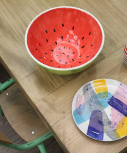 pintar ceramica vaixella